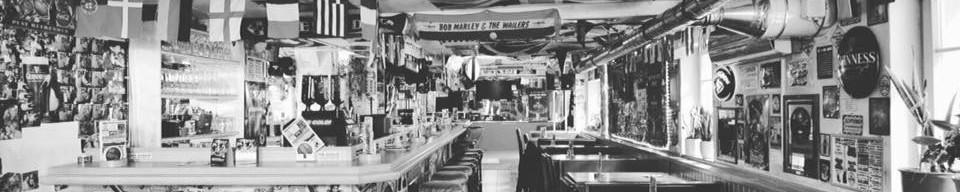 Irish Pub Ansbach schwarz weiss