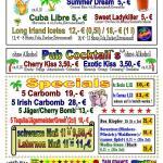 Irish Pub Ansbach - Getränkekarte Seite 4