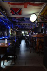 Gang nach vorne - Irish Pub Ansbach