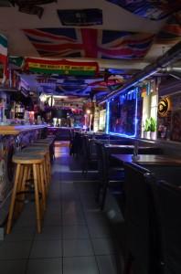 Irish Pub - Gang nach hinten