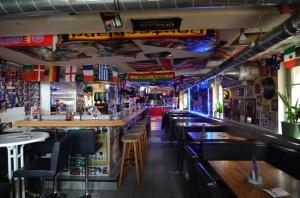 Innenraum des Irish Pub Ansbach