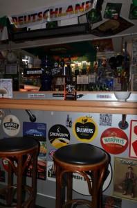 Platz an der irischen Bar in Ansbach