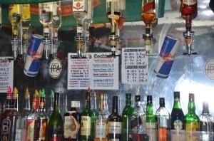 Irish Pub Ansbach - hinter der Bar