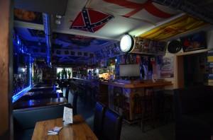 Boxentisch im Irish Pub
